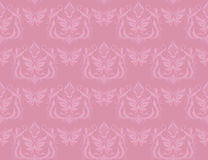 Seamless wallpaper. In pink  palette Stock Photo
