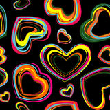 Seamless wallpaper. For the day Valentine Royalty Free Stock Photos