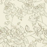 Seamless wallpaper vector illustration