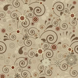 Seamless wallpaper. Royalty Free Stock Images