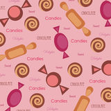 Seamless wallpaper Royalty Free Stock Images