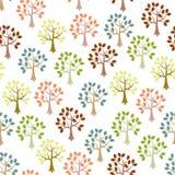 Seamless wallpaper stock illustration