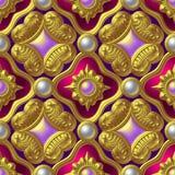 seamless wallpaper Arkivfoto