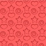 Seamless wallpaper. royalty free illustration