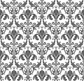 Seamless wallpaper background floral vintage Royalty Free Stock Images