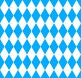 Seamless wallpaper. Bavarian Oktoberfest flag royalty free illustration