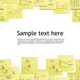 Seamless wallpaper: business background Royalty Free Stock Images