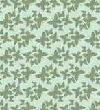 Seamless wallpaper with butterflies. Royalty Free Stock Photos