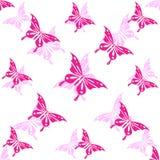 Seamless wallpaper butterfly Stock Photos