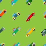 Seamless wallpaper of cars Stock Images