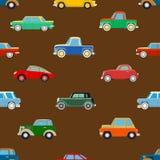 Seamless wallpaper of cars Stock Photos