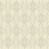 Seamless wallpaper of classic floral pattern Stock Image
