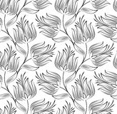 Seamless wallpaper of creative lotus flower. Vector seamless wallpaper of creative lotus flower vector illustration
