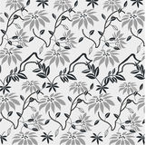 seamless wallpaper för blom- modell Royaltyfri Bild