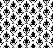 seamless wallpaper för blom- modell Arkivfoton