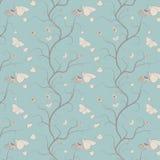 seamless wallpaper för fjärilsdesign Fotografering för Bildbyråer