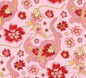 seamless wallpaper för modell Royaltyfri Fotografi