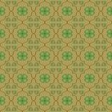 seamless wallpaper för växt av släkten Trifolium Arkivbilder