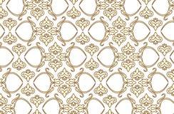 seamless wallpaper för vektor 6 royaltyfri illustrationer
