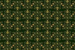 seamless wallpaper för vektor 7 stock illustrationer