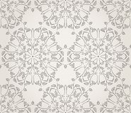 Seamless wallpaper with floral ornament Royalty Free Stock Photography
