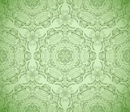 Seamless wallpaper with floral ornament Royalty Free Stock Image