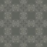 Seamless wallpaper with floral ornament Stock Image