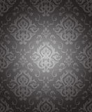 Seamless Wallpaper with floral Pattern Stock Image