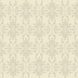 seamless wallpaper för klassisk blom- modell Fotografering för Bildbyråer