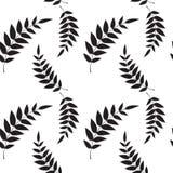 seamless wallpaper för leaf Royaltyfria Bilder