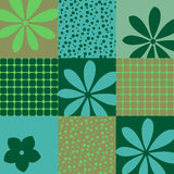 Seamless Wallpaper geometric patterns Royalty Free Stock Photos