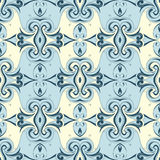 Seamless wallpaper ornament Royalty Free Stock Image