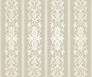 Seamless Wallpaper Pattern. In  vintage style Stock Image