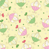 Seamless wallpaper pattern Royalty Free Stock Photo