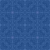 Seamless Wallpaper Pattern. Seamless Wallpaper Tile - This pattern repeats on all sides. You can use it to fill your own custom shapes and backgrounds Royalty Free Stock Photography