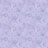 Seamless Wallpaper Pattern. Seamless Wallpaper Tile - This pattern repeats on all sides. You can use it to fill your own custom shapes and backgrounds Royalty Free Stock Images