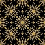 Seamless wallpaper pattern. Vector illustration of seamless wallpaper pattern Stock Photography
