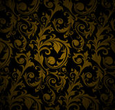 Seamless wallpaper pattern. Computer illustration, isolated Royalty Free Stock Photography