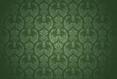 Seamless wallpaper pattern. Computer illustration, isolated on the white Royalty Free Stock Photos