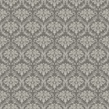 Seamless Wallpaper Pattern. Computer illustration, isolated on the white Stock Photography