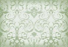 Seamless wallpaper pattern Stock Photo