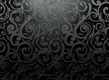 Seamless wallpaper pattern. Computer illustration Royalty Free Stock Photo