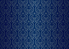 Seamless wallpaper pattern. Silver blue Royalty Free Stock Image