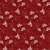 Seamless Wallpaper Pattern. You can use this repeating pattern to fill your own custom shapes and backgrounds Royalty Free Stock Images