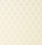 Seamless wallpaper pattern. Elegant retro motif wallpaper design Royalty Free Stock Image