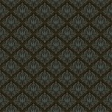 Seamless wallpaper pattern. Seamless black pattern.Vector illustration Stock Photos