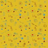 Seamless wallpaper, pattern Stock Photo