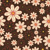Seamless wallpaper pattern. This is file of EPS10 format Royalty Free Stock Photography