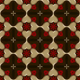 Seamless wallpaper pattern. Stock Photos