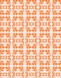 Seamless wallpaper pattern of antique elements-1 Stock Images